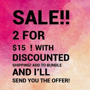 ❗️2 for $15 SALE❗️